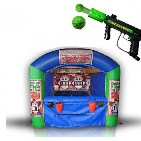 Bazooka Ball Game