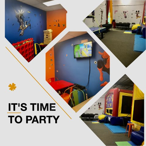 Bounce House Party Rm