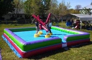 Inflatable 4-Player Joust