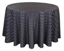 Tables Round(5) w/ Black Covers & Chairs Package