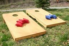 Carnival Game Corn Hole Set