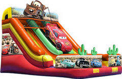 21FT Disney Cars Dry Slide