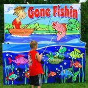 Carnival Game Going Fishin