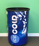 100 Qt - Blue Party Cooler