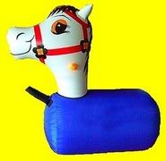 Inflatable Race Horse Medium