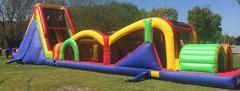 Extreme Rush - 80 FT Obstacle Course