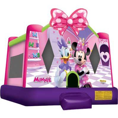 bh Minnie Mouse Package w/Cotton Candy