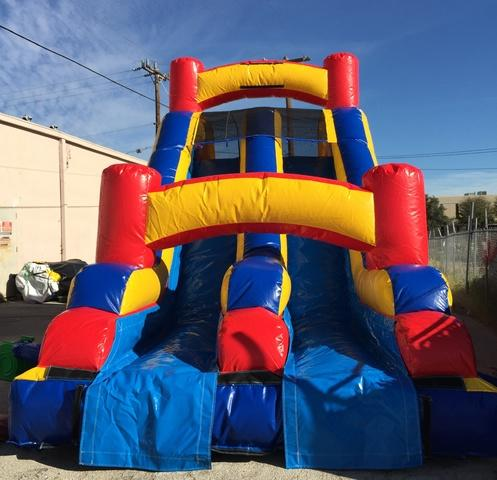 16 ft Dual Lane Slide