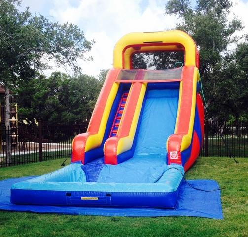18ft Water Slide with Pool