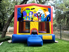 Spooky Monster Bounce House 13ft