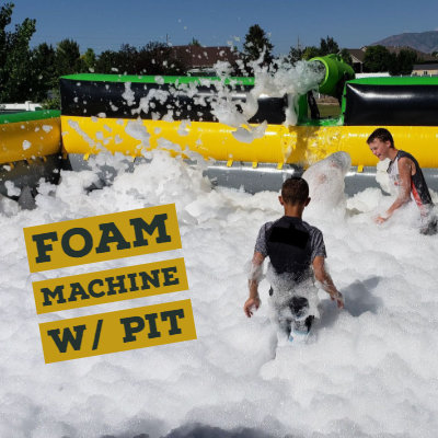 foam machine with pit