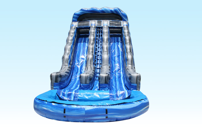 2 Lane Water Slide