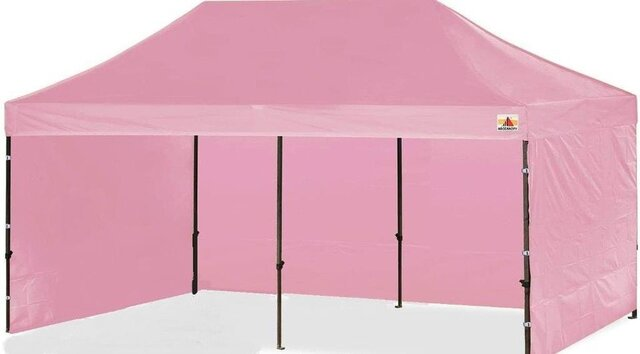 Pink Canopy 10x20