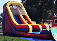20' Primary Color Waterslide