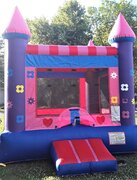 Pink Flower Bounce House