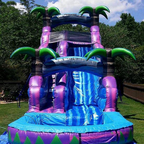 Inflatable Slide Rental Atlanta: Jump Around Party Rental- Moonwalk And Slide Rental In