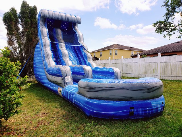 (e) 19ft Laguna Wave Slide POOL *DCF APPROVED*