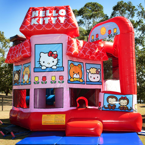 HELLO KITTY 7n1 Obstacle Combo- WET