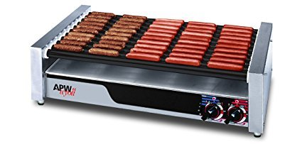 Hot Dog Roller- 50+ Dog Capacity