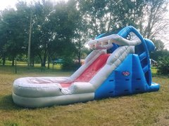 (g) 10ft Shark Water Slide- Juniors