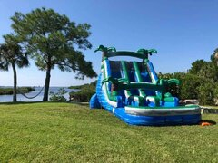 (d) *Brand New* 17FT DOUBLE LANE BLUE LAGOON