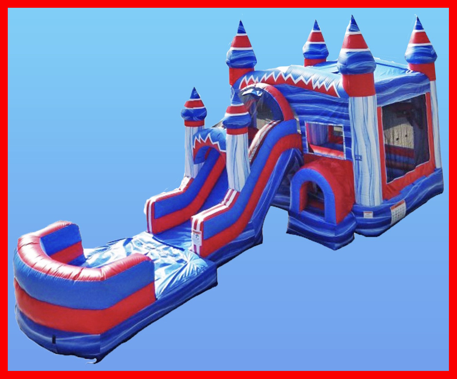Bounce house with Slide Milaca