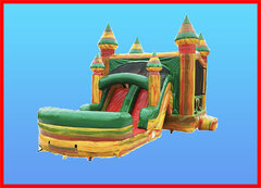 Bouncers with Water Slides