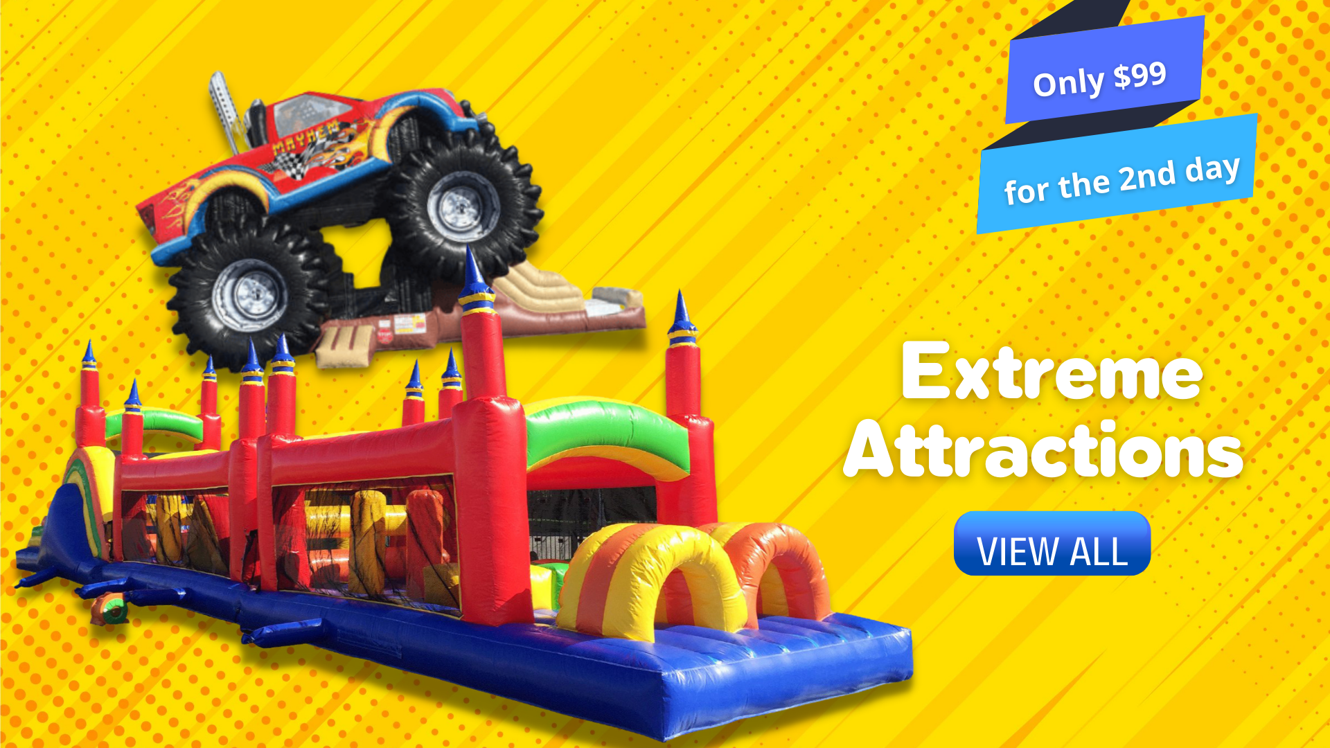 Jump City Extreme Inflatable Rentals