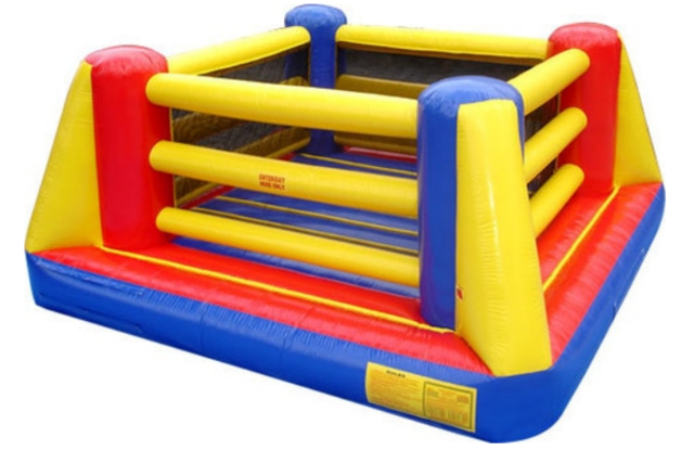15x15 Wrestling Ring (No Gloves) Great Indoors