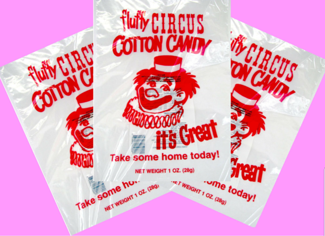 Cotton Candy Bag - Per Bag - Cotton Candy Not Included