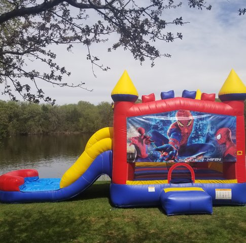 Wet/Dry Slide Combo Spiderman Theme