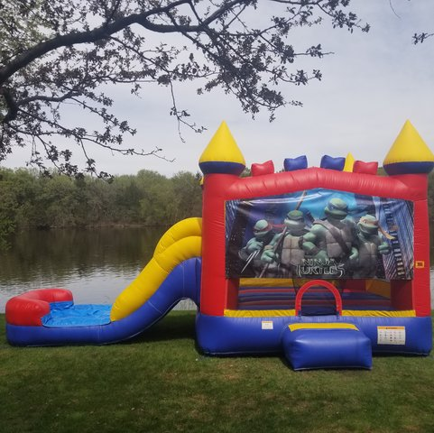 Teenage Mutant Ninja Turtles Wet or Dry Slide Combo