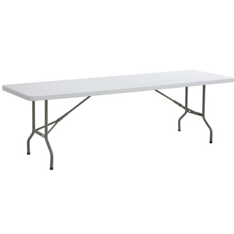8' Plastic Folding Table