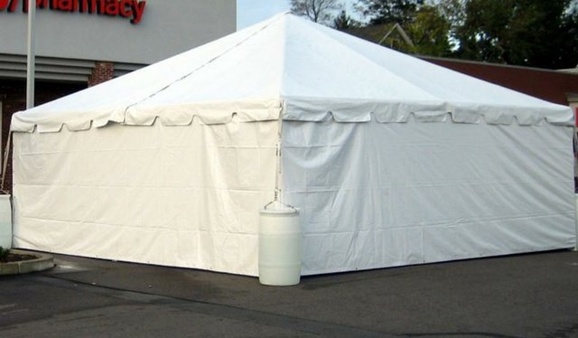 20' x 20' Tent Side