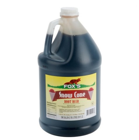 Snow Cone Syrup - Root Beer - 100 Servings