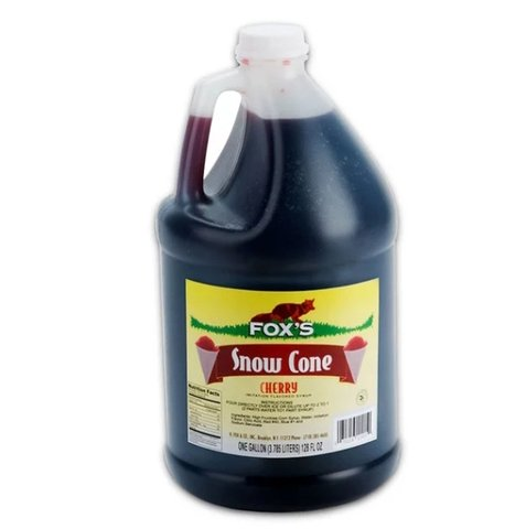 Snow Cone Syrup - Cherry - 100 Servings