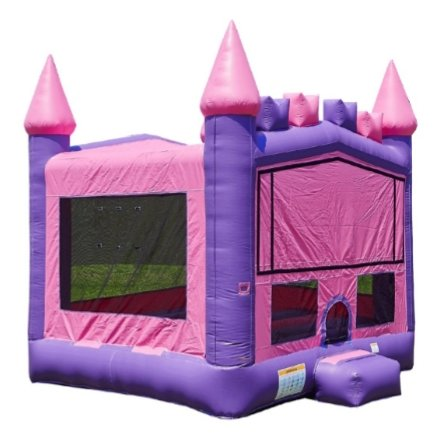 15 x 15 Pink and Purple Castle (Theme Available)