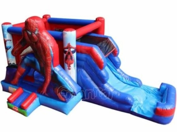 1 Spiderman Water Slide Combo