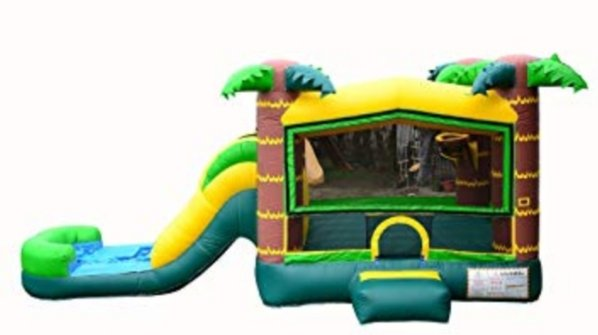 Tropical Water Slide Combo With Pool - (New)
