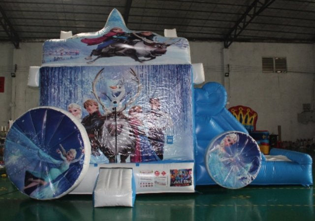 Disney Frozen Carrage Slide Combo