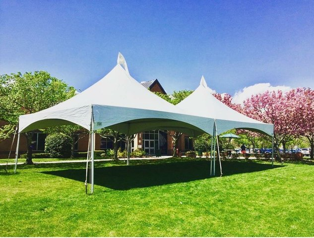 1 High Peak 40' X 20' Tent - Installed