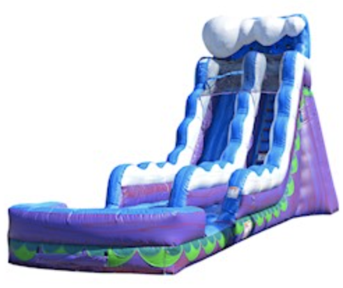 20ft Mighty Wave Waterslide