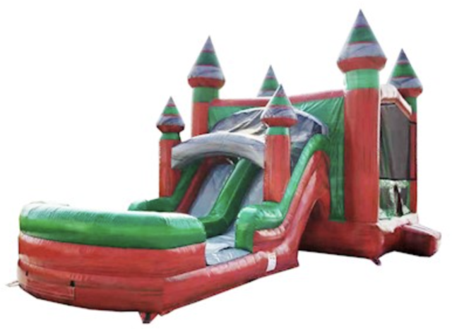 16ft x 32ft Midnight Dual Lane Waterslide