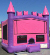 15x15 Pink and Purple Castle (Theme Available)