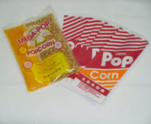 Popcorn Supplies (24 Servings)