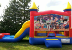 Wet/Dry Slide Combo Toy Story Theme