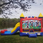 Wet/Dry Slide Combo Mickey & Minnie Mouse Theme