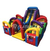 Chaos Dual Obstacle Course