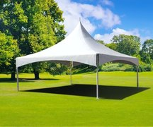 High Peak 20' X 20' Tent - (Grass) Installed