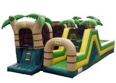 Hop N' Rock Tropical Obstacle Course